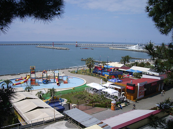Морские ворота морпорта