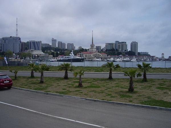 Вид на Морпорт